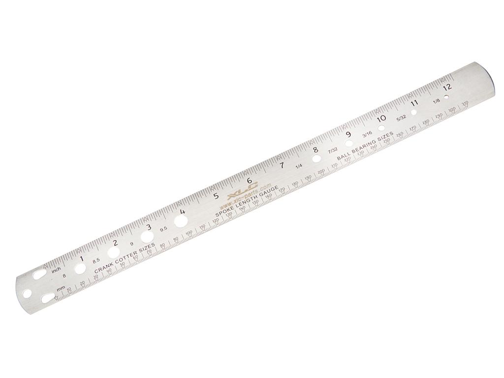 Image of   Eger længdemåler i ædelstål - XLC