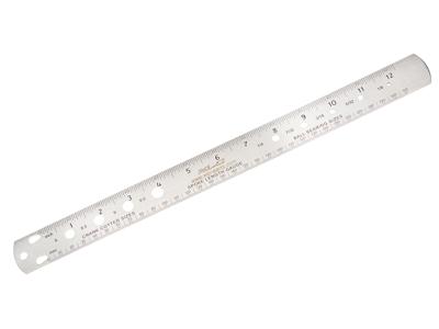 Eger længdemåler i ædelstål - XLC