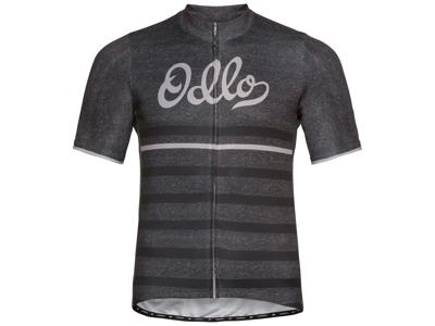 Odlo Element Print - Cykeltrøje med korte ærmer - Herre - Grå
