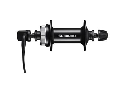 Shimano Altus - Framnav QR - HB-MT200 - Disk center lock - Svart - Till 32 ekrar