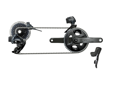 Sram Force eTap AXS 2X Upgrade Kit - Elektronisk gear med hydrauliske disc - 2x12 gear