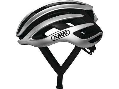 Abus AirBreaker - Cykelhjelm - Sølv - Str. 52-58cm