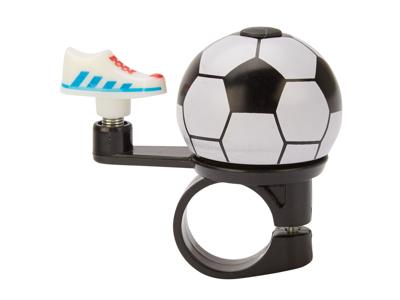 Atredo - Ringeklokke - Fodbold - Sort/hvid