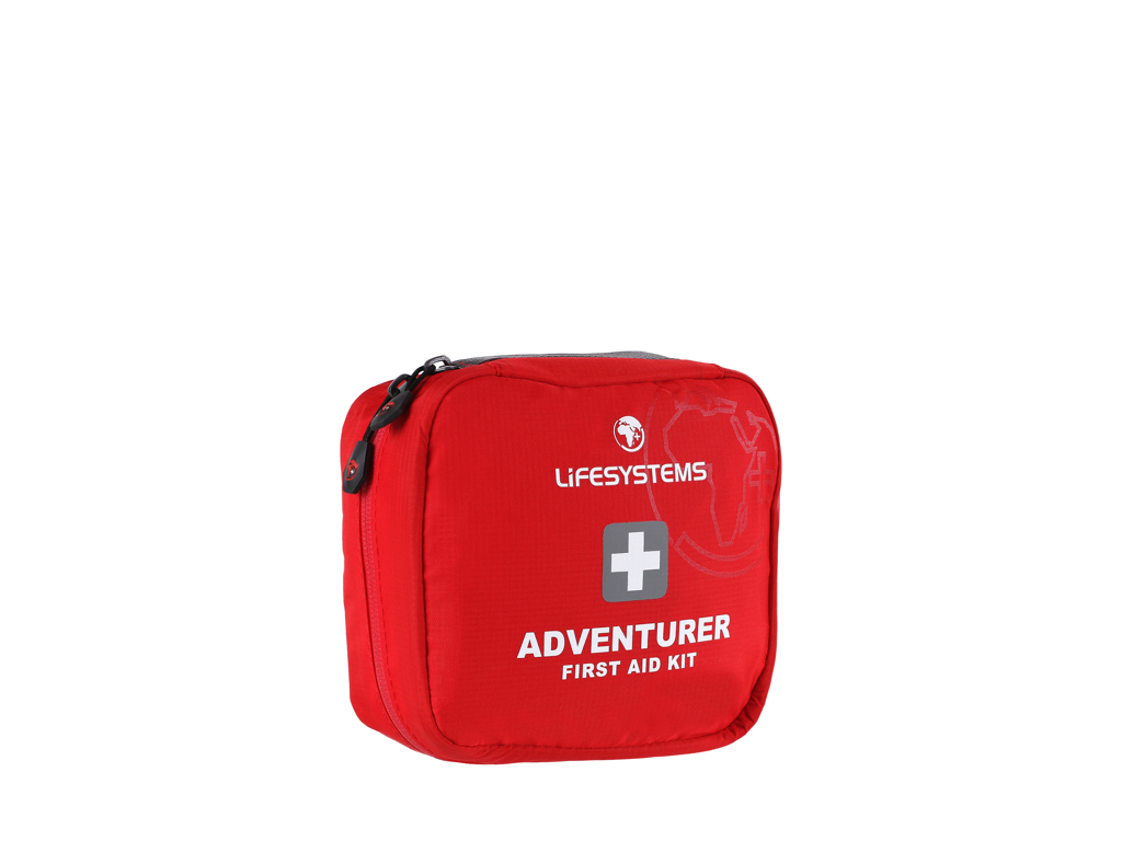 Image of   LifeSystems Adventurer First Aid Kit - Førstehjælpskit - Rød