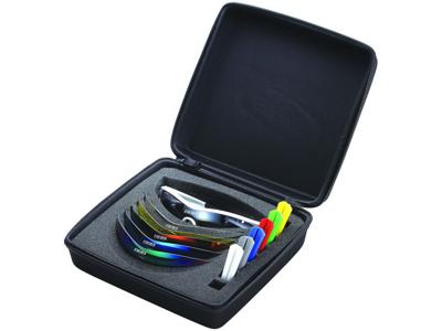 BBB - Løbe- og cykelbrille Select med 14 dele - Hvid