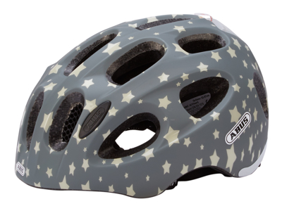 Abus Youn-I - Cykelhjelm - Grå stjerne