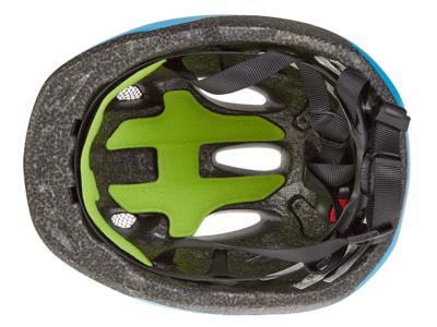 Giro Scamp børnecykelhjelm - Mat blå/lime