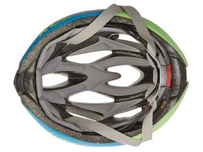 Rudy Project Rush - Cykelhjelm - Azurblå/Lime