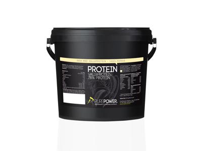 PurePower Proteinpulver - Valleproteindrik Vanilje 3 kg