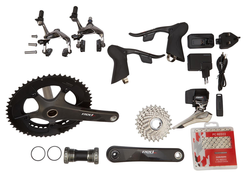 Sram Red eTAP - Komplet geargruppe - 22 elektroniske gear - GXP | Geargrupper