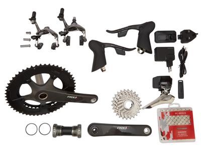 Sram Red eTAP - Komplet geargruppe - 22 elektroniske gear - GXP