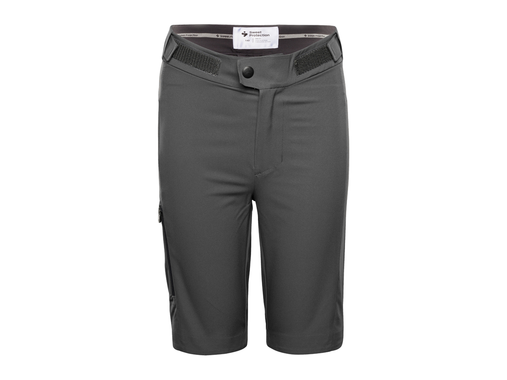 Image of   Sweet Protection Hunter Shorts JR - Junior cykelshort - Grå - Str. 140