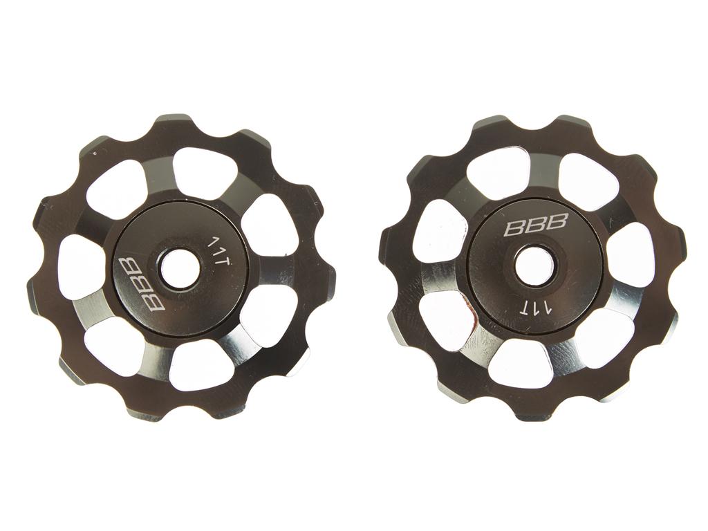 Image of   BBB pulleyhjul 11 tands med ABEC-5 lukkede lejer - Alu boys 2 stk