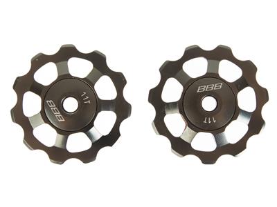 BBB pulleyhjul 11 tands med ABEC-5 lukkede lejer - Alu boys 2 stk