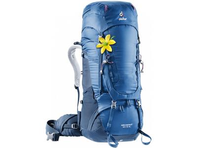 Deuter Aircontact 40 + 10 SL - Trek rygsæk - Dame model - Blå