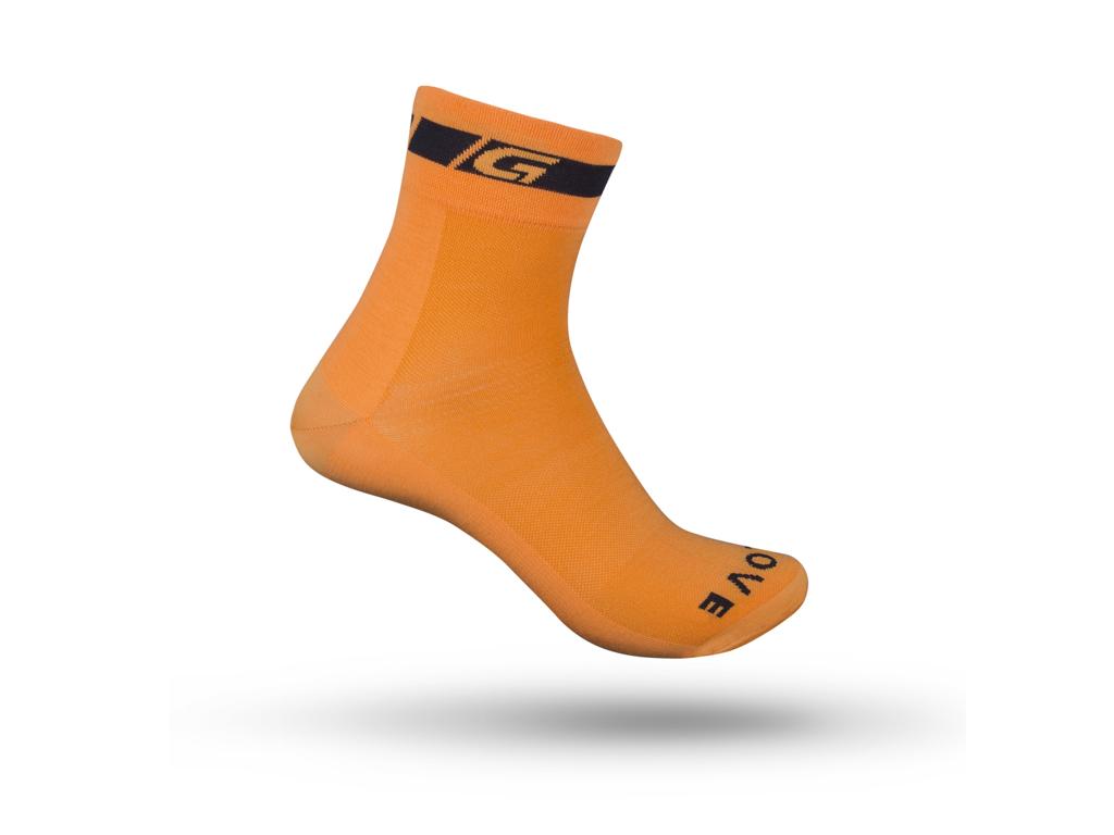 GripGrab Regular Cut 3003 - Cykelstrømpe - Orange