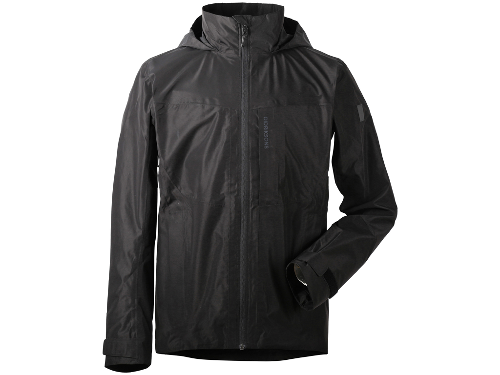Image of   Didriksons Stratus Mens Jacket - Regnjakke herre - Sort - Str. L