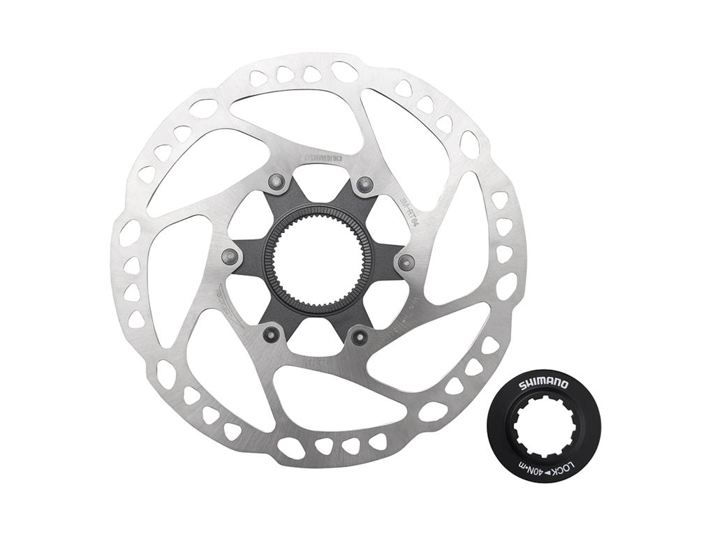 Image of   Shimano SLX - Rotor for skivebremser 203mm til center lock