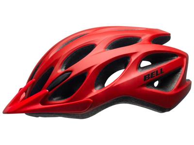 Bell Tracker - Cykelhjelm - Str. 54-61 cm - Mat Rød