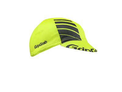 GripGrab Lightweight Summer Cap 5022 - Cykelkasket - Hi-Vis Gul - One Size