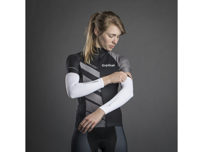 GripGrab 4015 UV Sleeves - Armvarmere - Hvid