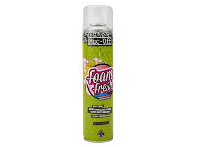 Muc-Off Foam Fresh Cleaner - Citrus duft - Neutraliserer skidt på tekstiler - 400 ml