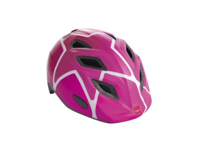 MET Elfo/Genio - Cykelhjelm - Pink Stjerner