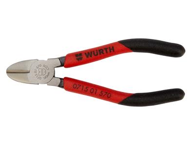 Skævbidder Würth med skridsikker greb og god arbejdskomfort