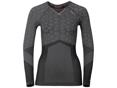 Odlo Blackcomb Evolution warm - Langærmet bluse til dame - Grå