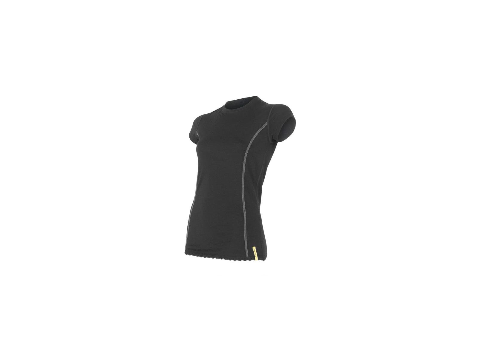 Sensor Merino Active Uld T shirt med korte ærmer Dame Sort (DKK 429,00)