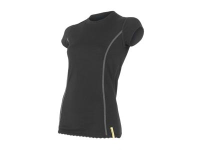 Sensor Merino Active -Uld T-shirt med korte ærmer - Dame - Sort