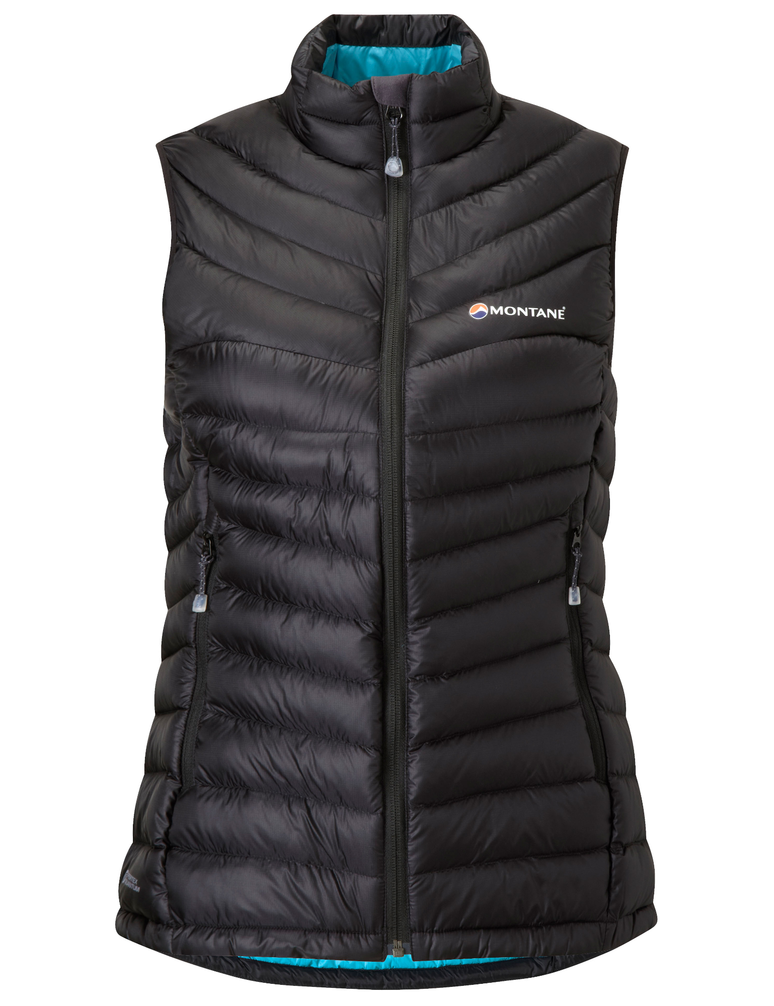 Montane Womens Featherlite Down Vest - Dunvest - Dame - Sort | Vests