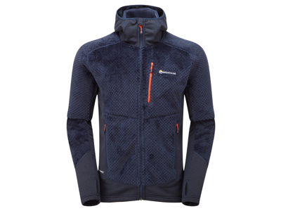 Montane Wolf Hoodie - Fleecejakke Mand - Navy - Medium
