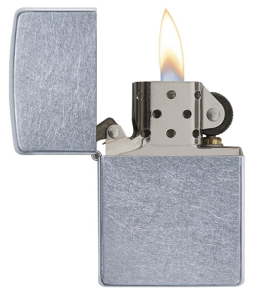 Zippo Street Chrome - Lighter - Patineret krom | City