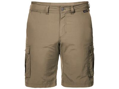 Jack Wolfskin Canyon Cargo Shorts - Herre - Kaki