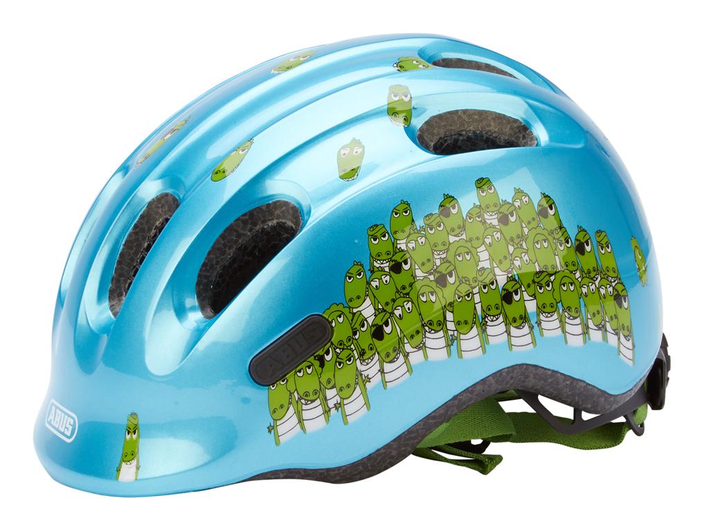 Image of   Abus Smiley 2.0 cykelhjelm - Str. 45-50 cm - Blå/grøn