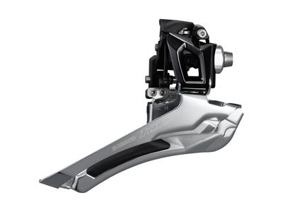 Shimano 105 Forskifter sort - FD-R7000FL - til 2 x 11 gear -  til direkte montering