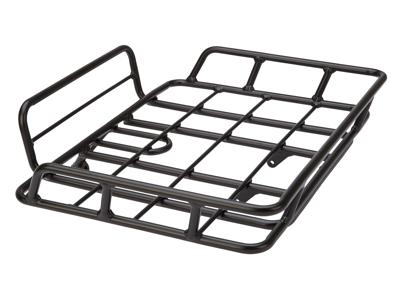 Bike Partner - Pakethållare till front - Aluminium - Svart - Max 10 kg 26\