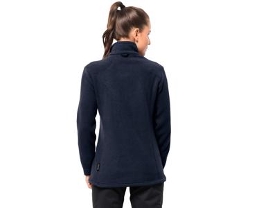 Jack Wolfskin Midnight Moon Fleece jakke - Dame - Mørkeblå