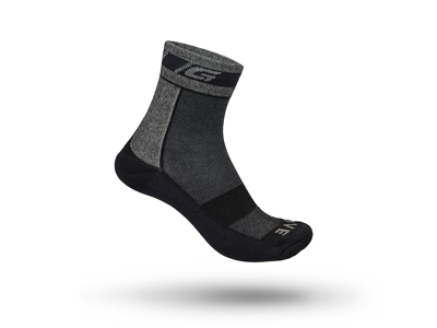 Strømper GripGrab Winther Sock sort str. M (41-44)