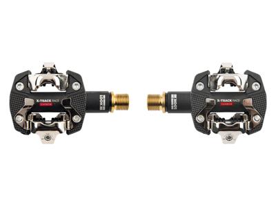 Look X-Track Race - Karbon Titan pedaler original - Svart