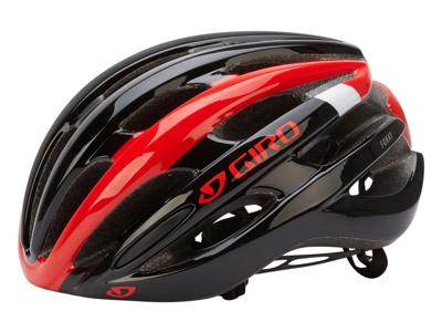 Giro Foray - Cykelhjelm - Rød/Hvid/Sort