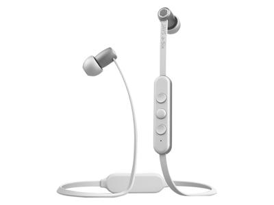 Jays a-Six Wireless - Trådlösa hörlurar - Vit/Silver