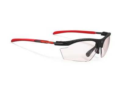 Rudy Project - Löpar- och cykelbrillor Rydon Karbon - Vita med Röd lins