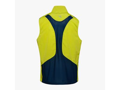 Diadora Vest - Running Vest Men - Hi-Vis Green
