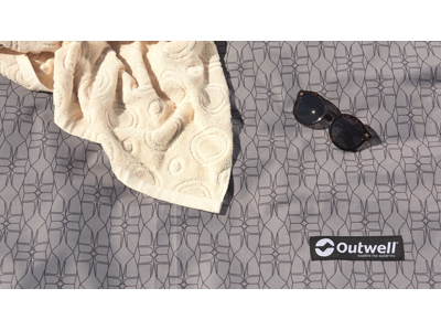 Outwell Chatham 4A - Fladvævet gulvtæppe - Grå