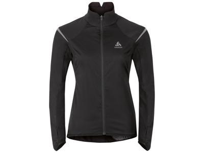 Odlo Zeroweight - Softshell/jersey jakke til dame - Sort