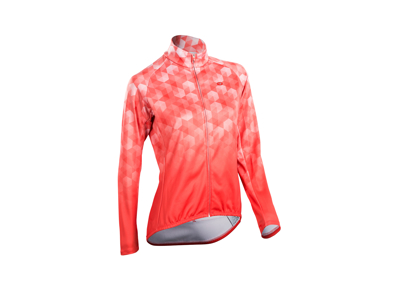 SUGOi Evolution ZAP - Langærmet dame cykeltrøje med lynlås - Coral