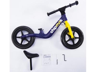 Chipmunk - Løbecykel - Magnesium - Blå/gul