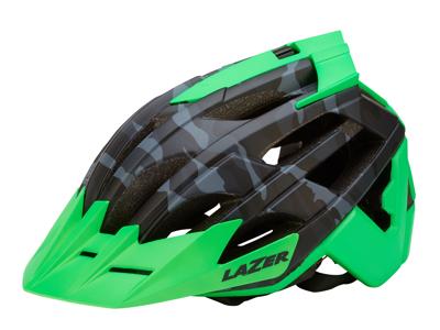 Lazer - Cykelhjelm - Oasiz - Matsort camouflage/grøn - 55-59 cm